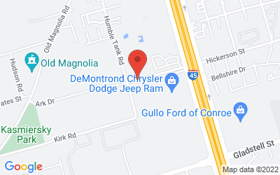 Map of DeMontrond Collision Conroe