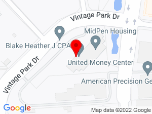 Google Map of MidPen Housing Corporation