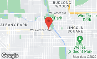 Map of 3030 West Lawrence Avenue CHICAGO, IL 60625