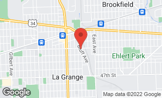 Map of 304 East Cossitt Avenue LA GRANGE, IL 60525