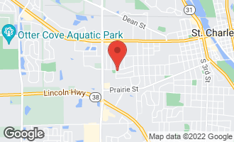 Map of 304 South 19th Street ST. CHARLES, IL 60174