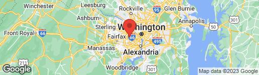 Map of 304 WRENS WAY FALLS CHURCH, VA 22046