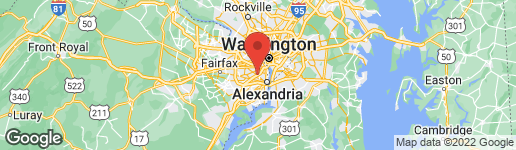 Map of 3043 COLUMBUS STREET S B1 ARLINGTON, VA 22206