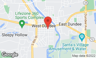 Map of 305 Oregon Avenue WEST DUNDEE, IL 60118