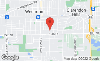 Map of 305 South Wilmette Avenue WESTMONT, IL 60559