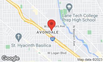 Map of 3056 North Francisco Avenue CHICAGO, IL 60618