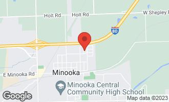 Map of 306 Chippewa Drive MINOOKA, IL 60447