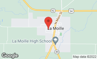 Map of 306 High W. Street LAMOILLE, IL 61330