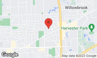 Map of 306 Holly Avenue DARIEN, IL 60561