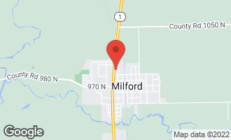 Map of 306 North Axtel Avenue MILFORD, IL 60953