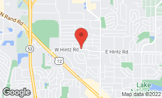 Map of 306 West Hintz Road ARLINGTON HEIGHTS, IL 60004