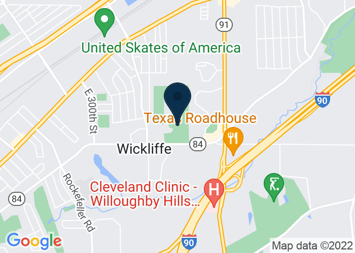 Map of 30601 Ridge Road, Wickliffe, OH 44092, United States