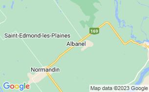 Map of Camping Municipal D'albanel