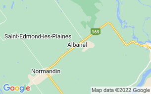 Map of Camping Municipal D'albanel