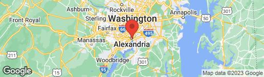 Map of 307 GIBBON STREET ALEXANDRIA, VA 22314