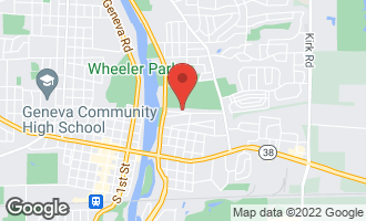 Map of 307 Woodward Avenue GENEVA, IL 60134