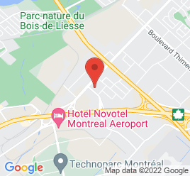 Google Map of 3075+Rue+Halpern%2CSaint-Laurent%2CQuebec+H4S+1P5