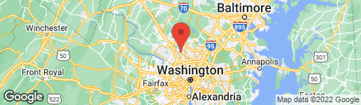 Map of 308 MEADOW HALL DRIVE ROCKVILLE, MD 20851