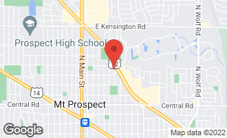 Map of 308 North William Street MOUNT PROSPECT, IL 60056