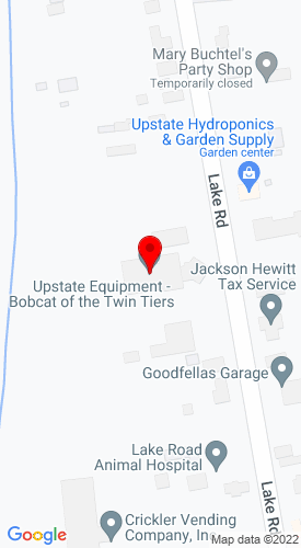 Google Map of Bobcat of the Twin Tiers 3087 Lake Road, Horseheads, NY, 14845
