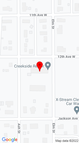 Google Map of Berube's Inc 309 12th Avenue W, Lisbon, ND, 58054-0671