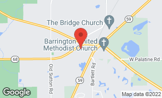 Map of 309 Dundee Road BARRINGTON, IL 60010