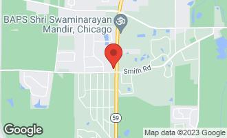 Map of 30W151 Forsythia Lane WAYNE, IL 60184