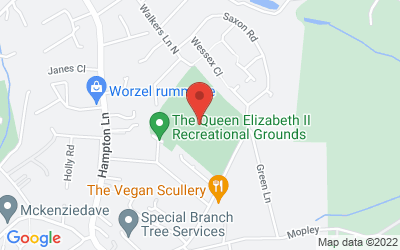 Map of  QE2 Recreation Ground, Langley