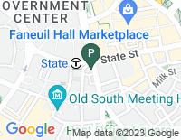 Google Map of 31 State Street, 9th Floor, Boston MA