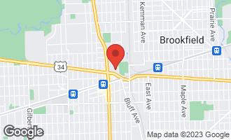 Map of 31 East Ogden Avenue #319 LA GRANGE, IL 60525