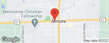 Map of 100 S Carney St in Atmore