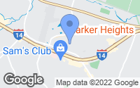 Map of Harker Heights, TX