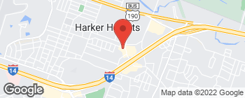 Map of 600 Indian Trail in Harker Heights