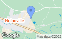 Map of Nolanville, TX