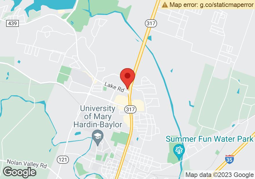 Google Map of 100 LAKE RD
