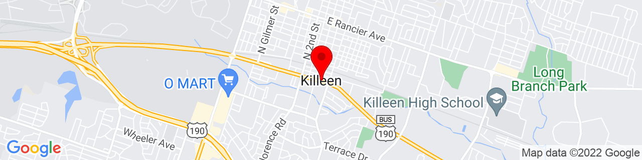 Google Map of 31.1171194, -97.72779589999999