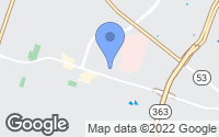 Map of Temple, TX