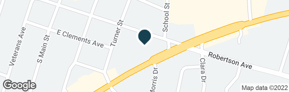 Google Map of527 E HIGHWAY 190