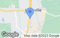 Map of Leesville, LA