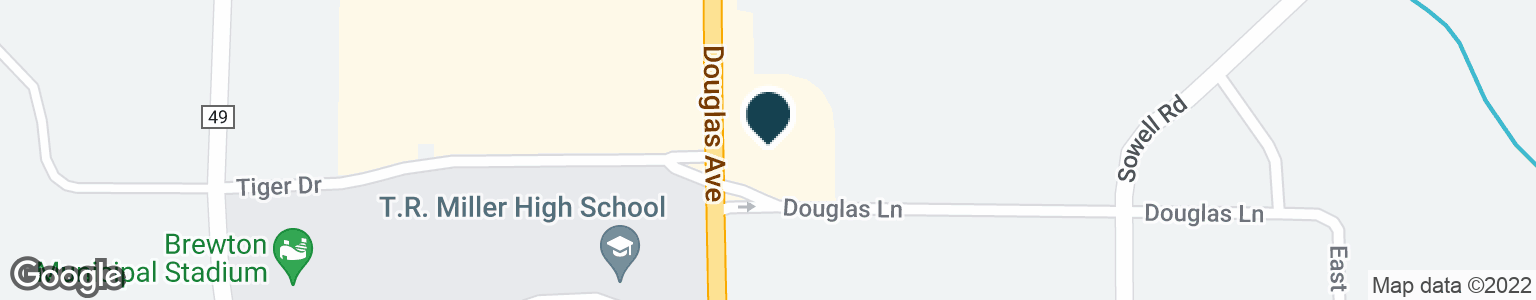 Google Map of2040 DOUGLAS AVE