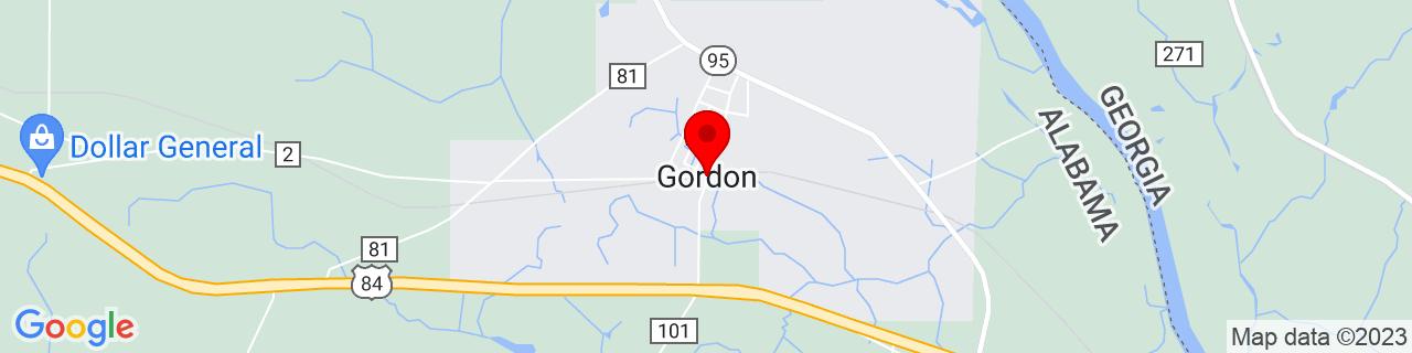 Google Map of 31.14129179999999, -85.09659649999999