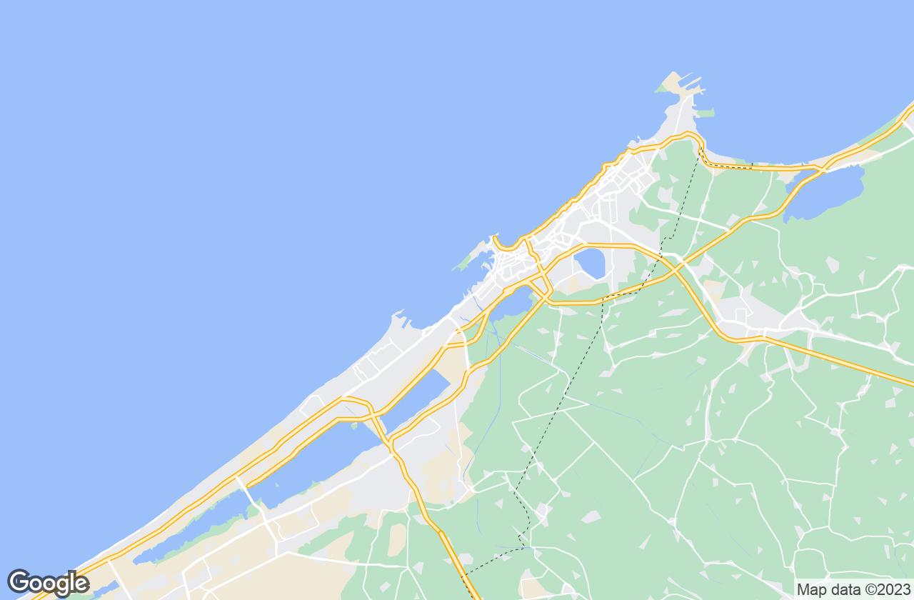 Google Map of Alexandria