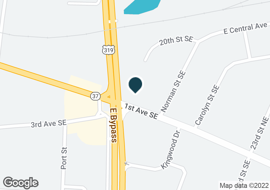 Google Map of2025 1ST AVE SE