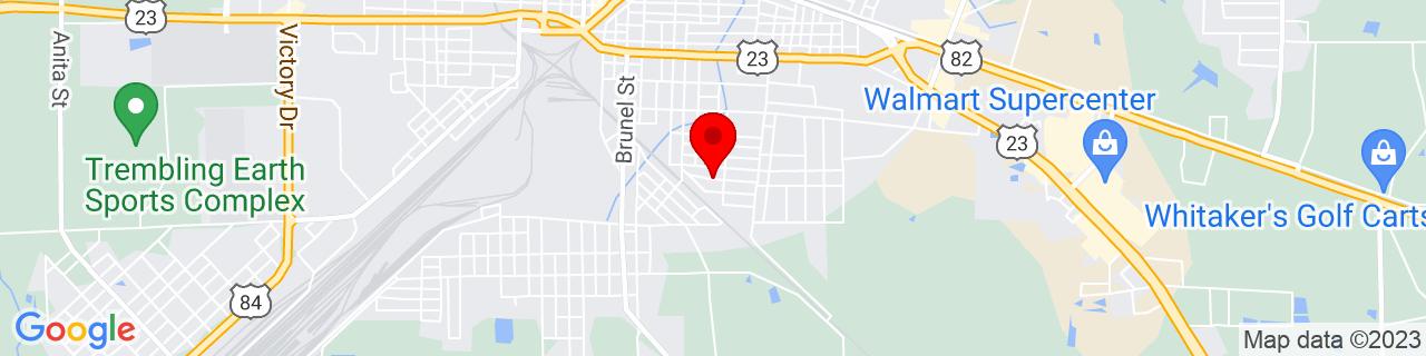 Google Map of 31.19822, -82.351142
