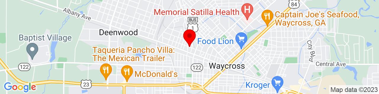 Google Map of 31.2182473, -82.3648556