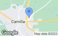 Map of Camilla, GA