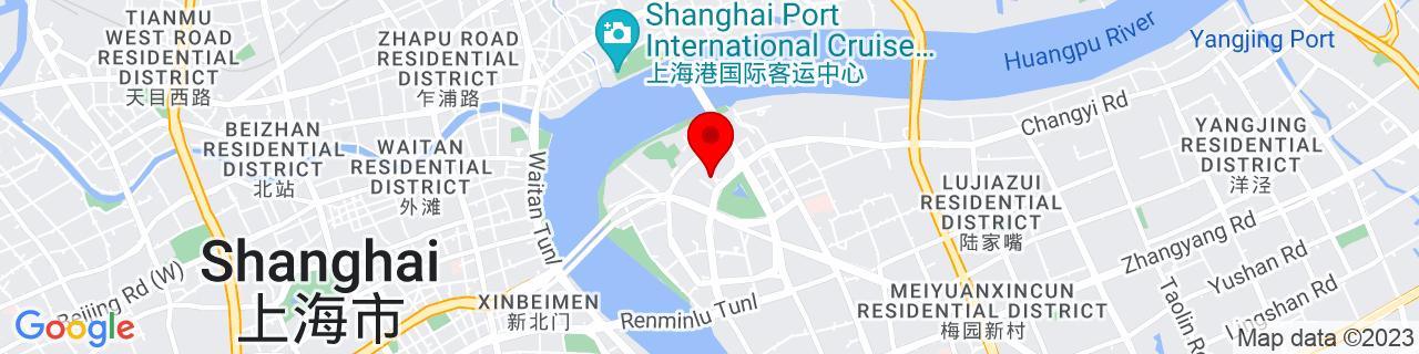 Google Map of 31.239444444444445, 121.5038888888889