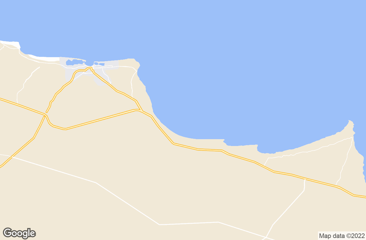 Google Map of Marsa Matruh