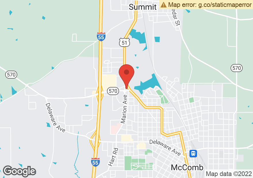 Google Map of 906 MARION AVE