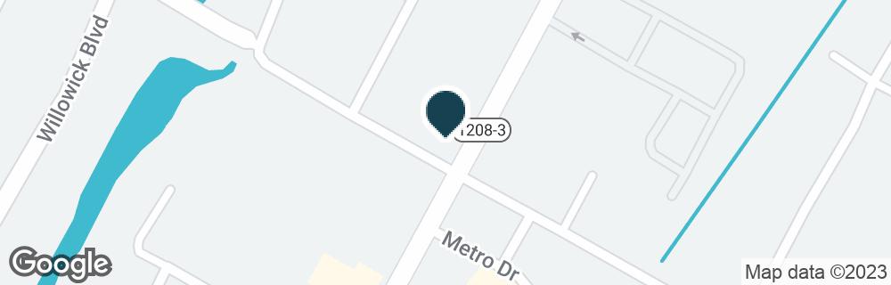 Google Map of4444 JACKSON ST